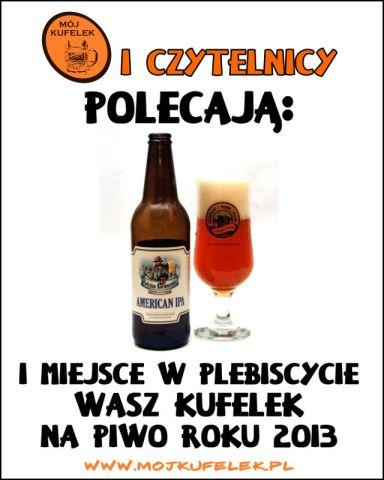 Wasz Kufelek - piwo roku 2013