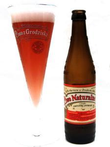Piwo Naturalne o smaku czerwonej porzeczki