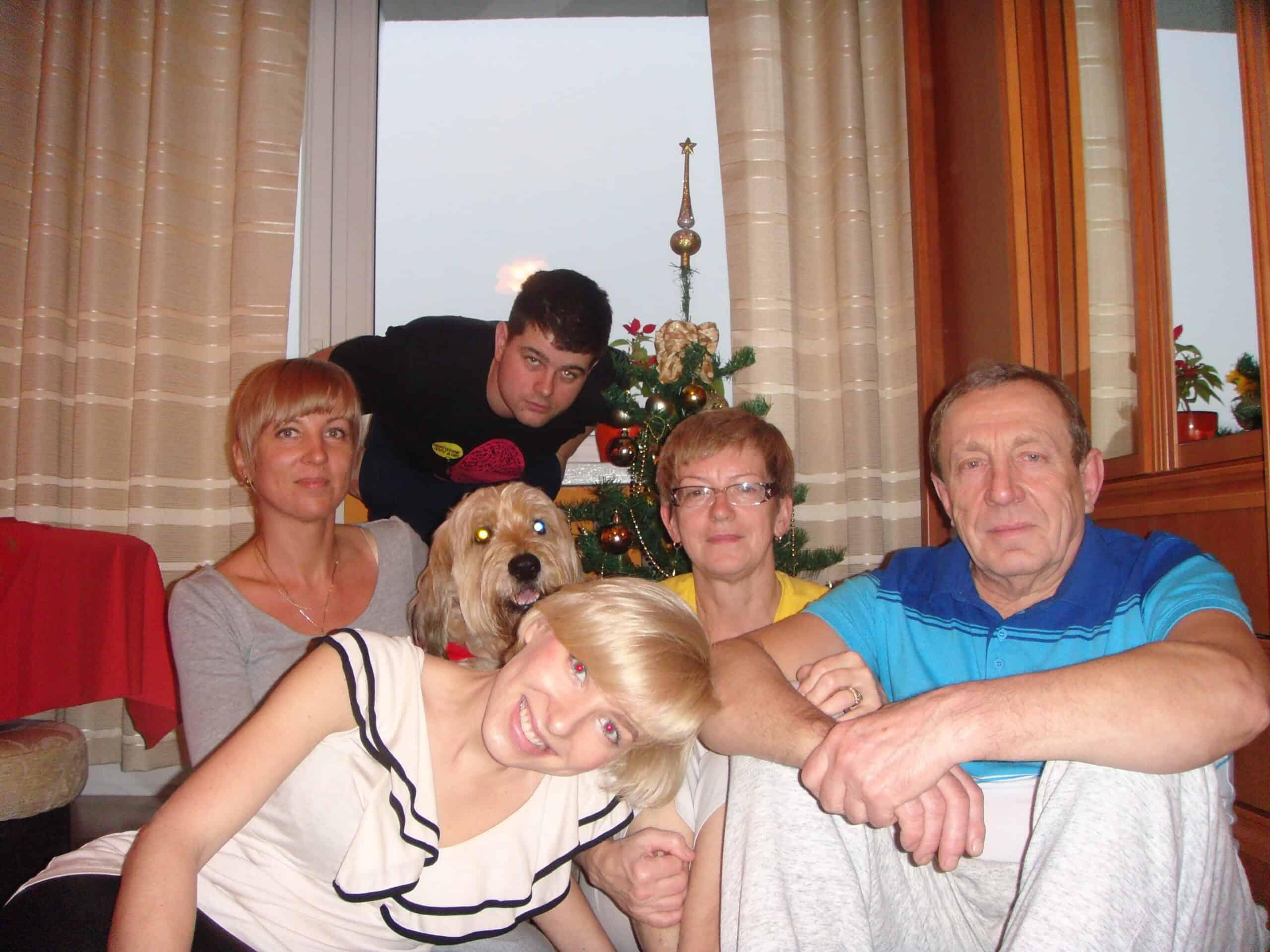 boże narodzenie wspomnienia rodzina