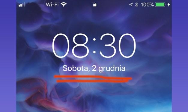 Błąd na dziś…  2 grudnia, wewnętrzne powiadomienia zawieszają iOS 11.1.2