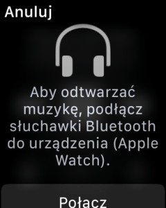 Koniec z odtwarzaniem na głośniku Apple Watch