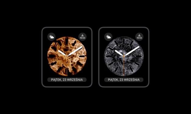 Nowe tarcze Apple Watch dla wszystkich