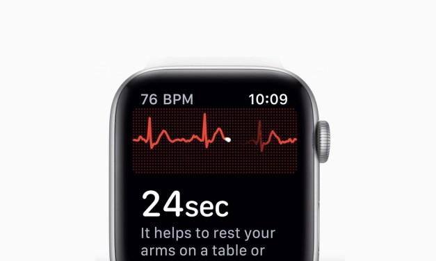 watchOS 5.1.2 wprowadzi EKG