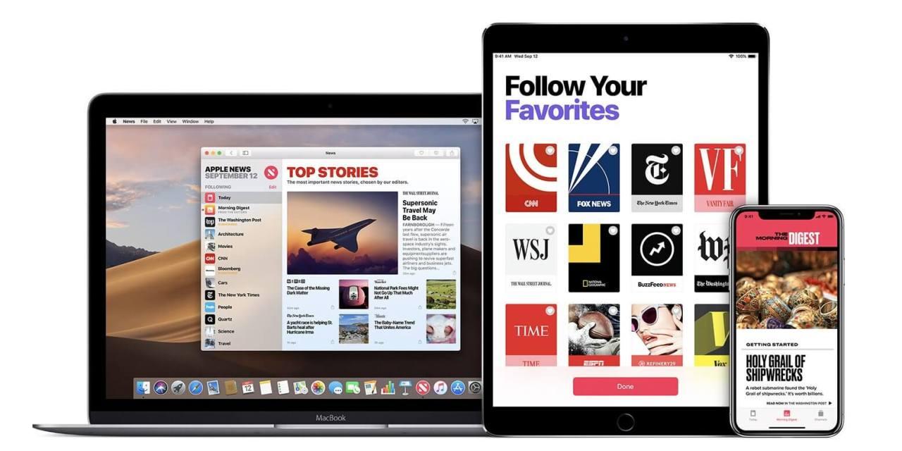 Apple News niedługo z płatnym abonamentem