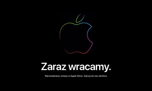 Sklep Apple zamknięty. Czy dziś zobaczymy coś nowego?