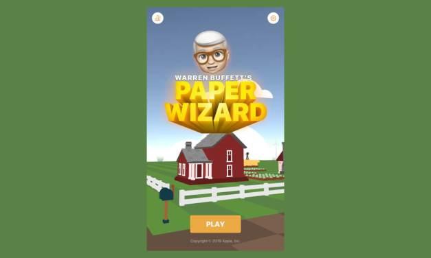 Apple wydał grę… Warren Buffet's Paper Wizard