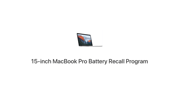 Baterie w 15″ MacBook Pro 2015-2017 do wymiany