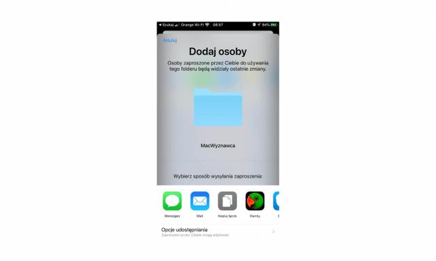 Udostępnianie folderów w iCloud. iOS 13 odeśle DropBoxa do lamusa?