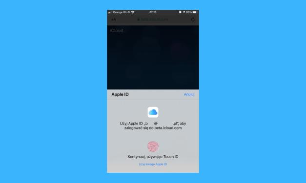 """Apple testuje własne metody logowania """"na sobie"""""""