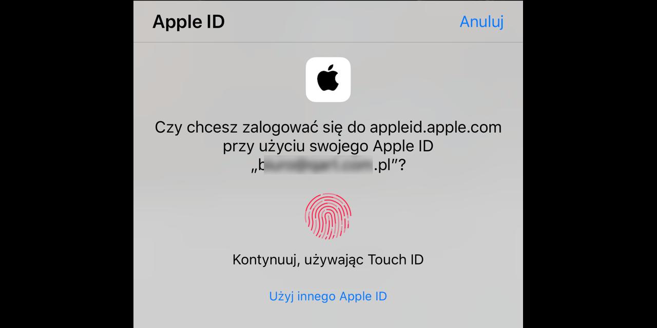 Tak działa Sign in with Apple. Sprawdź sam