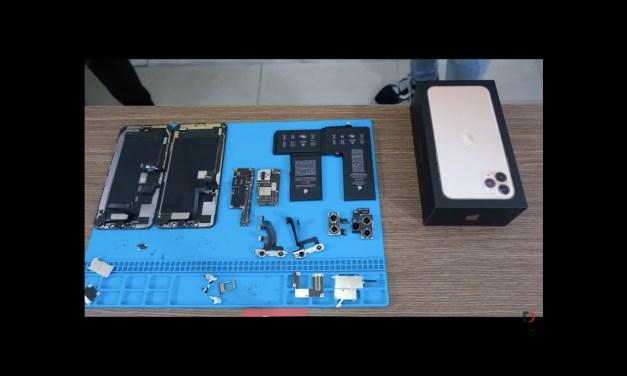 Baterie w iPhone'ach 11 są pojemniejsze, bo w jednym kawałku