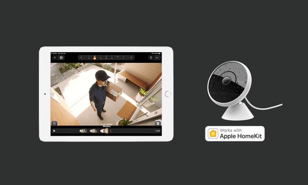 Pierwsza kamera z Apple HomeKit Secure Video