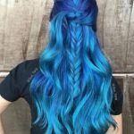 Modrá farba na vlasy