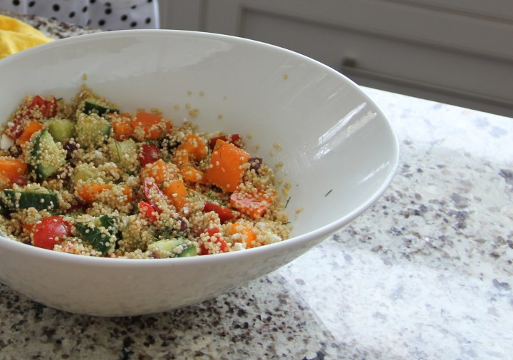 "Your next ""Take to a BBQ"" Quinoa Salad"