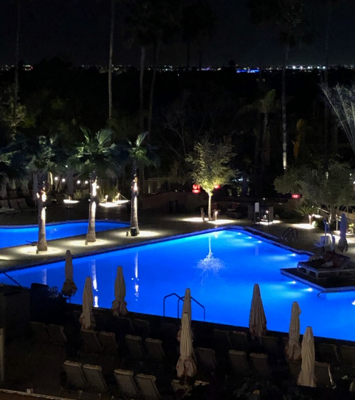 Night time pool view, The Phoenician Scottsdale