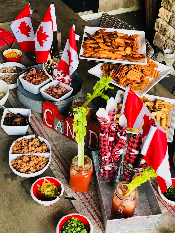 The Great Canadian Poutine Bar – a Canada Day menu for a crowd