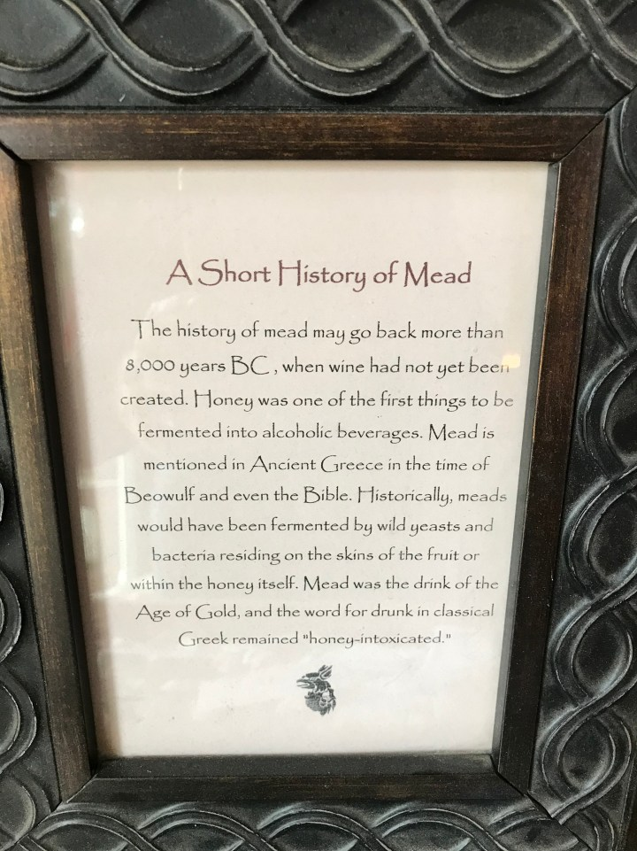 History of mead