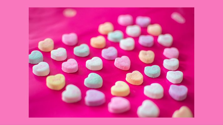 Candy Hearts - teen Valentines day