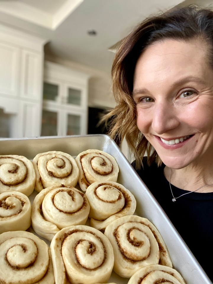 Old Fashioned Cinnamon Buns