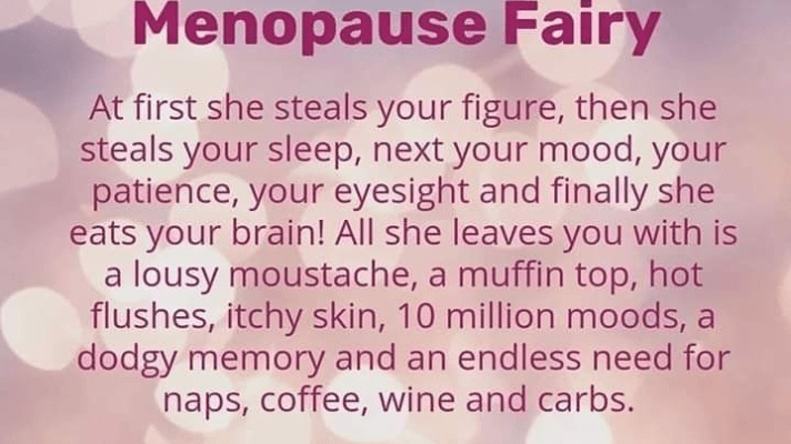 Can't Sleep..Oh Hello Menopause