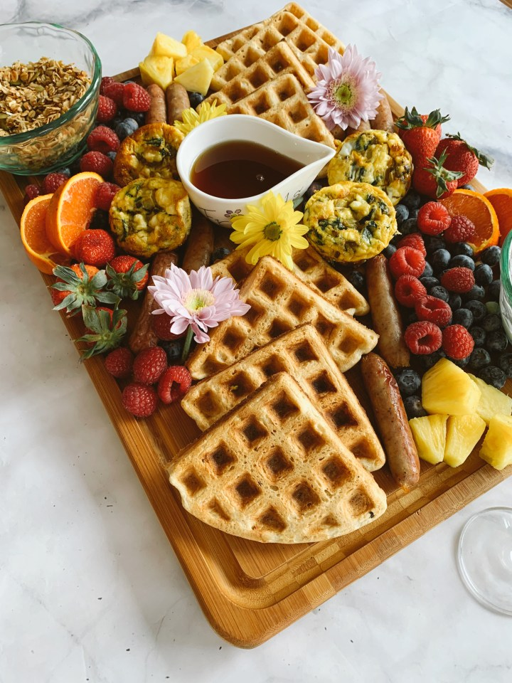 Mother's Day Brunch Charcuterie Board