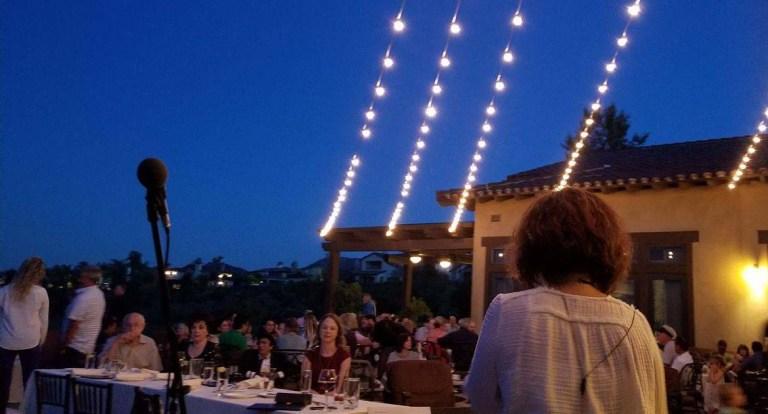 Oaks Grille patio concert