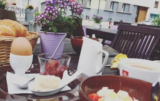Sonntagsfrühstück in der Kleinigkeit