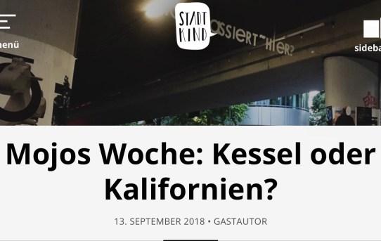 Big News: Mojos Woche - jetzt auch bei Stadtkind Stuttgart