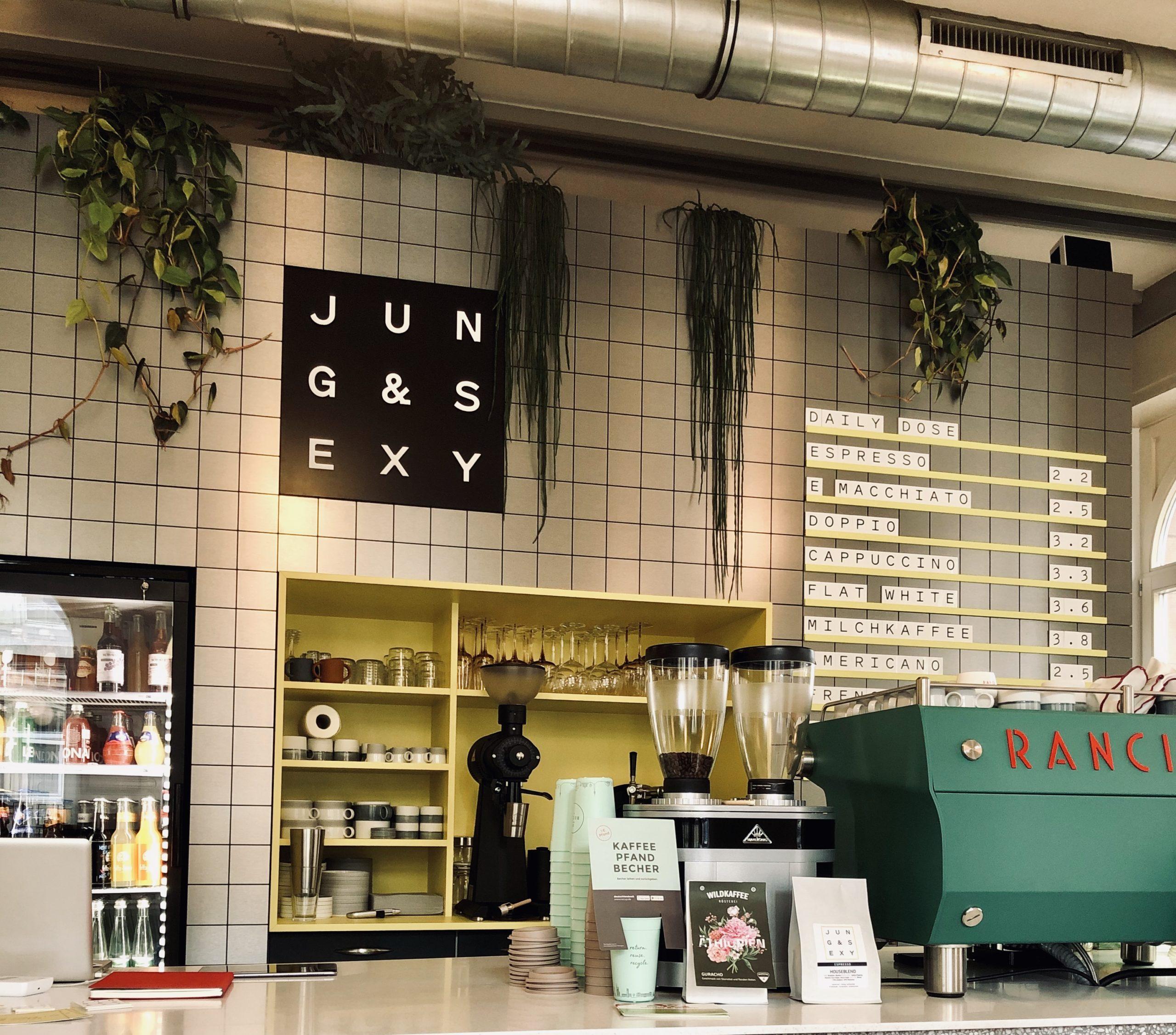 Neu in Stuttgart: Café Jung & Sexy Katharinenstraße