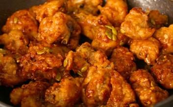korean honey butter chicken resep menu makanan buka puasa sahur masakan korea enak mojok