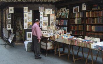 penjaga toko buku mojok