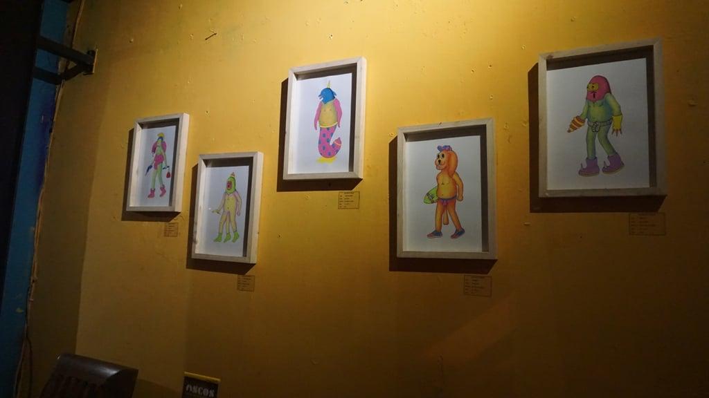 Display karya seni yang dipamerkan di Ascos