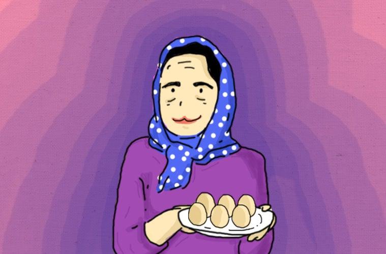 Dua Butir Telur Ayam Kampung Rebus