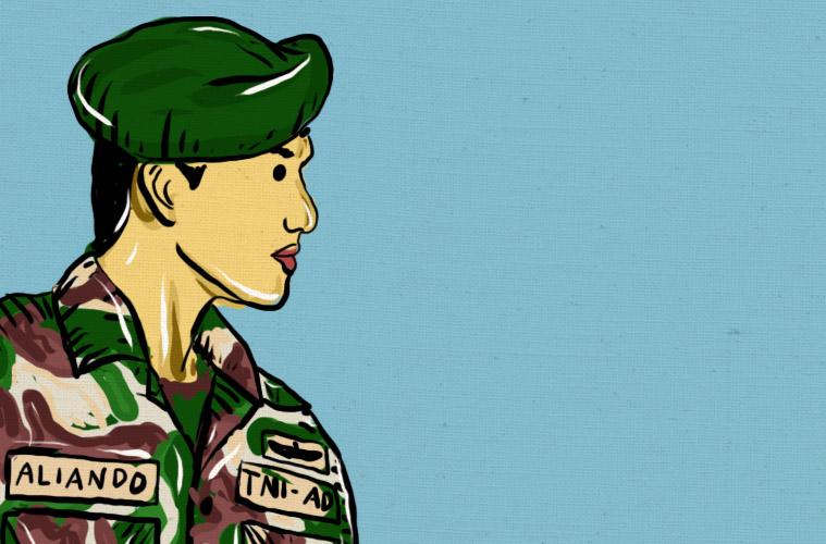 Hukuman yang Bisa Dilakukan Tentara pada Sipil tanpa Menggampar