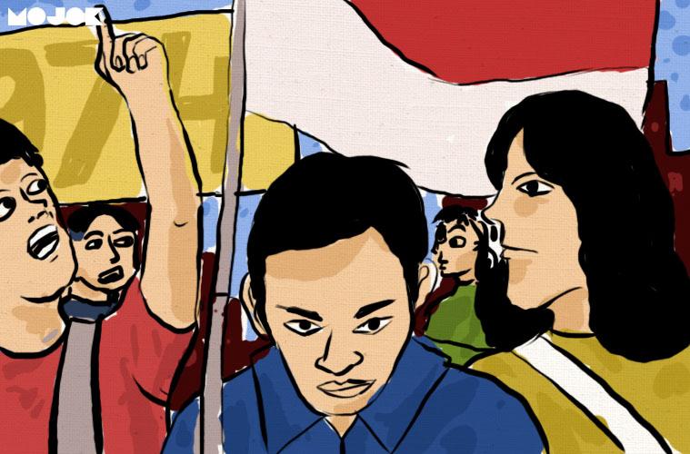 Polda Metro Jaya Somasi Ananda Badudu Karena Dituduh Beri Pernyataan Hoaks demo mahasiswa
