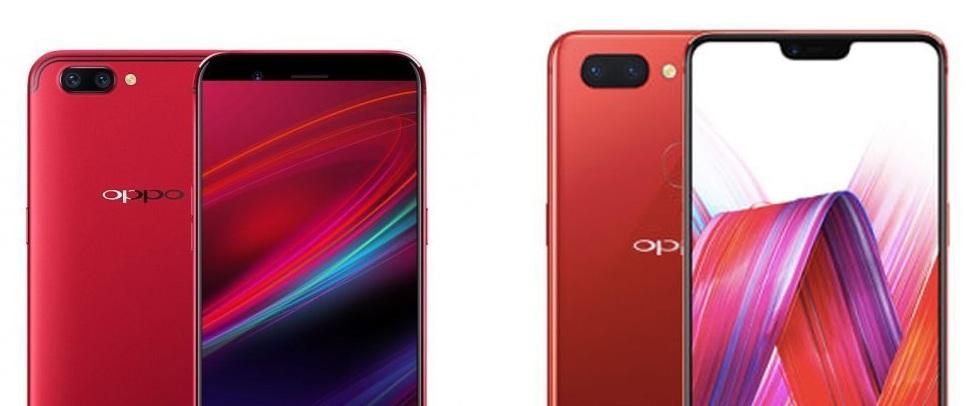 Oppo F5 (kiri) vs Oppo F7 (kanan)