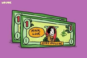 rupiah, dollar sri mulyani