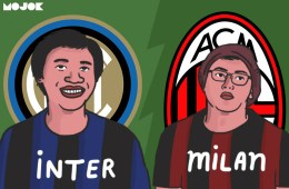 Inter vs Milan MOJOK.CO