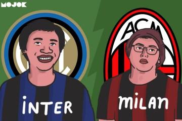 Inter vs Milan MOJOK.CO