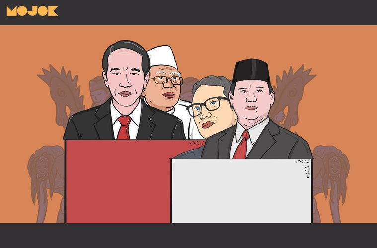 Prabowo dekati Jokowi sesuai survei Kompas MOJOK.CO