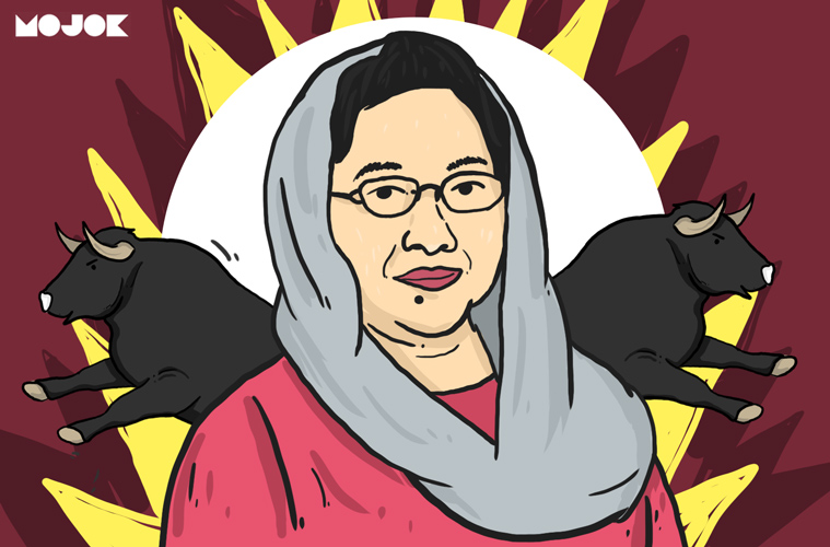 Megawati dimarahi Pak Wiranto karena golput MOJOK.CO