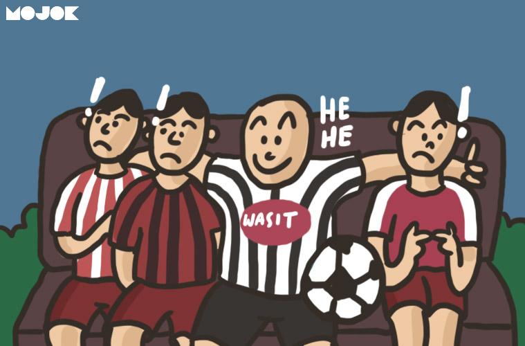 Milan Atletico Arsenal dikerjai wasit MOJOK.CO