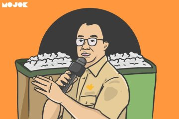 Anies Baswedan vs Bestari Barus MOJOK.CO