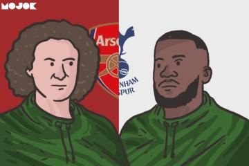 Arsenal dan Tottenham Hotspur MOJOK.CO