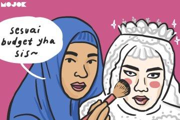 make-up nikahan kelihatan pangling MOJOK.CO