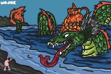 naga hijau jadi-jadian naga pantai selatan nyi blorong