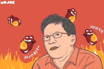 rocky gerung pdip pancasila lapor polisi presiden jokowi mojok.co