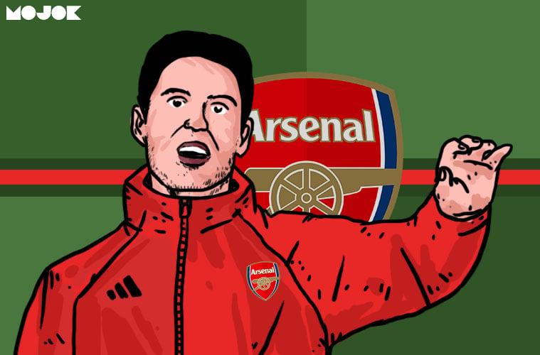 Mikel Arteta Arsenal Liga Inggris MOJOK.CO