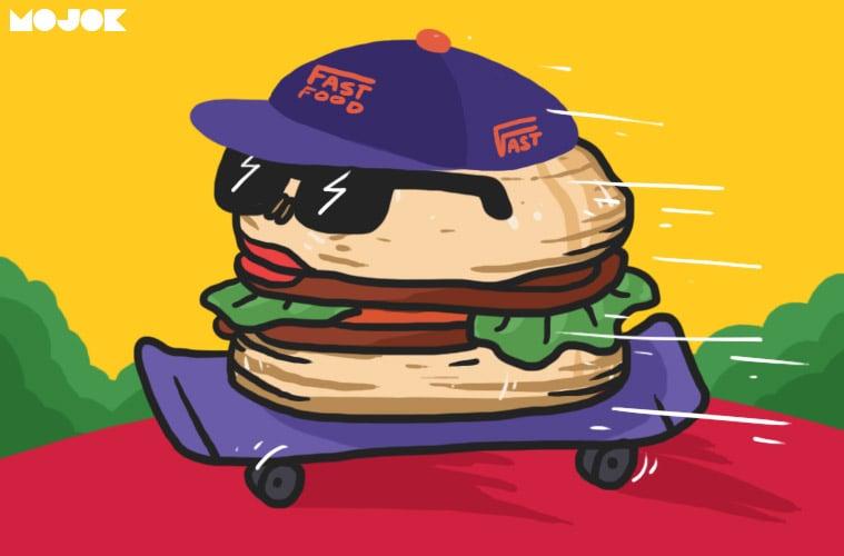 beda fast food dan junk food McD KFC richeese makanan sampah burger king kentang soda kesehatan makanan sehat pecel mojok.co