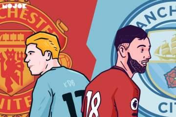 Manchester United, Manchester City, Kevin de Bruyne, Bruno Fernandes